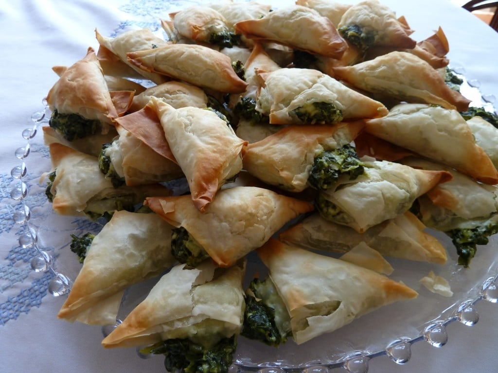 Spanakopita Triangles + Then Some Recipes — Dishmaps