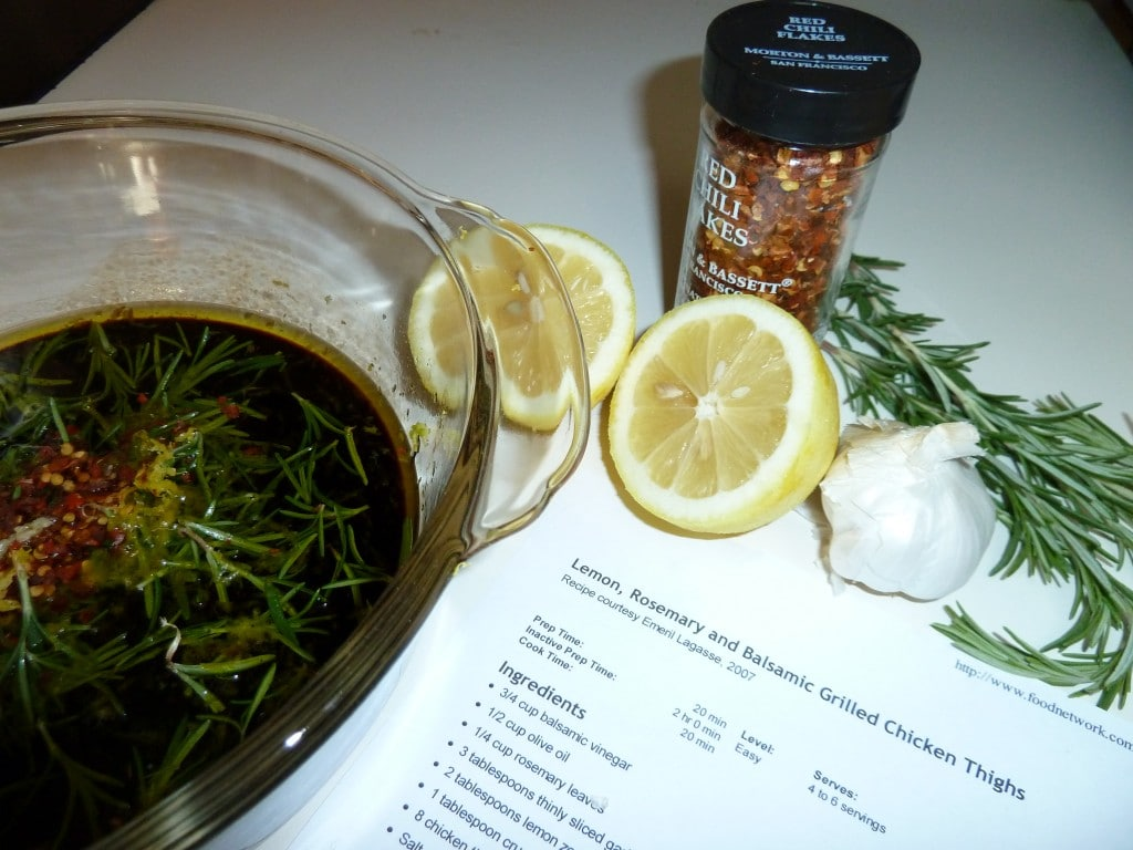 Lemon rosemary and balsamic grilled chicken kitoulas greek food emeril forumfinder Image collections