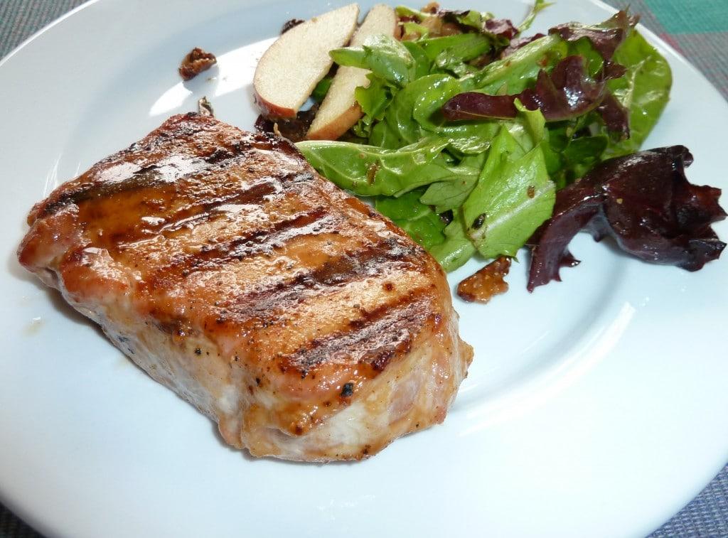 Grilled Greek Pork Chops Food Network