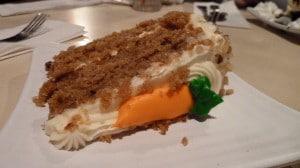 Pier III Carrot Cake