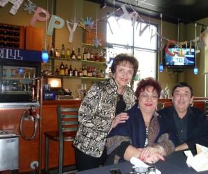 Nouna Tina, Thea Pelly & Theo Danny