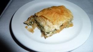 Phyllis' spinach pie