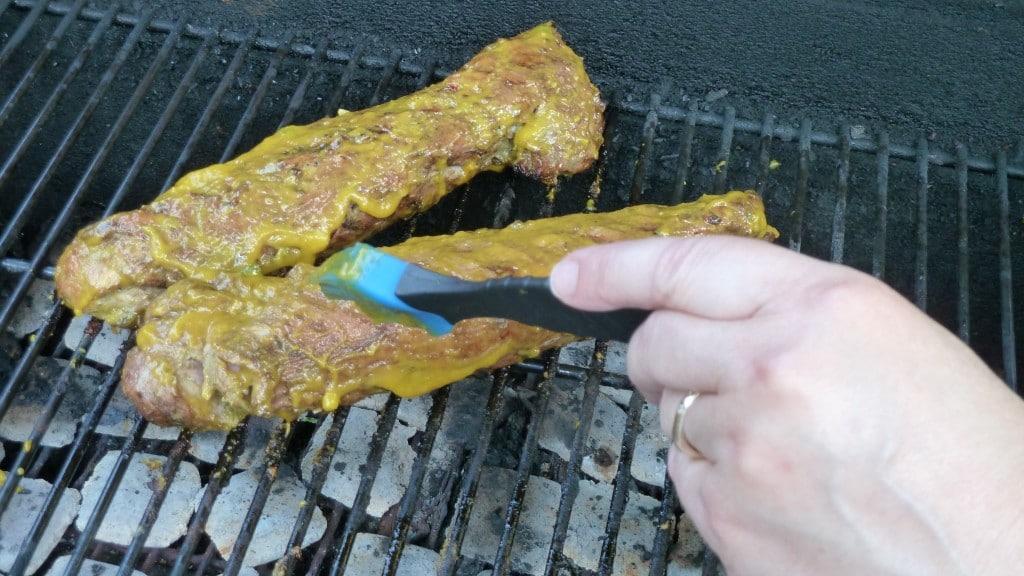 Brush Pork with Glaze