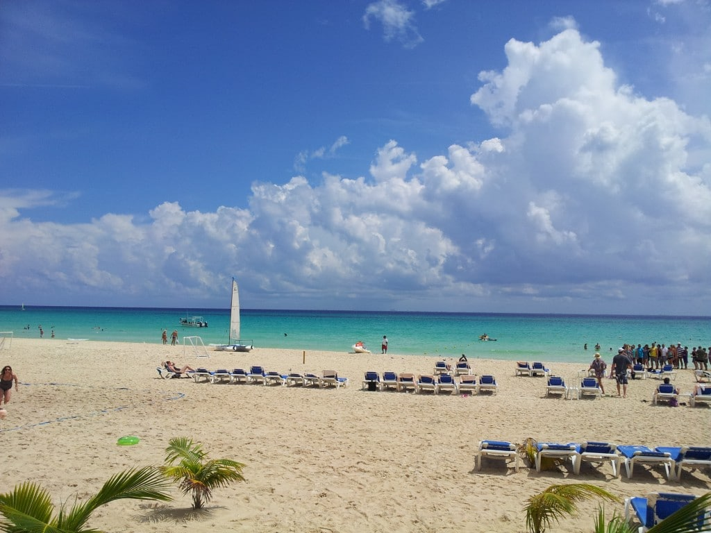 The Beach at Riu Palace Riviera Maya