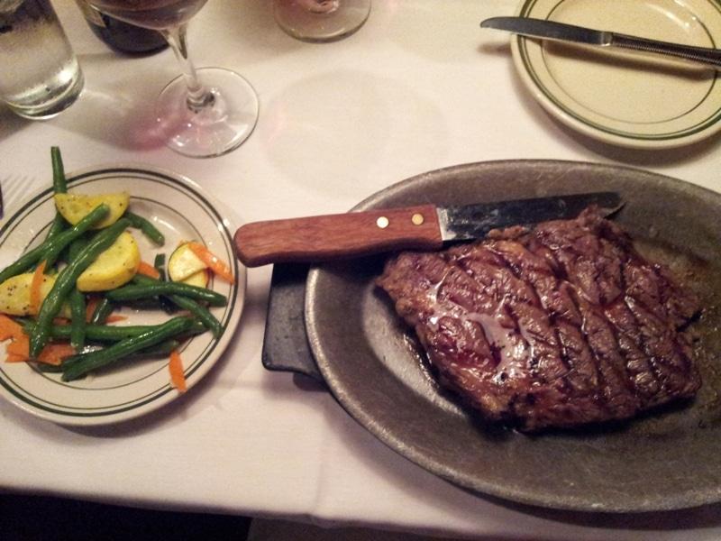 16 oz. Delmonico steak with Au Jus
