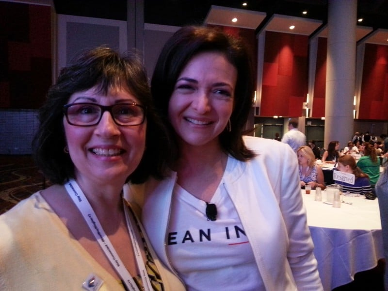 Sheryl Sandberg2 My BlogHer 13 Weekend