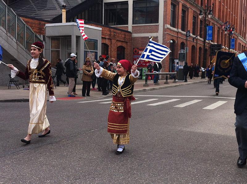Greektown parade 1