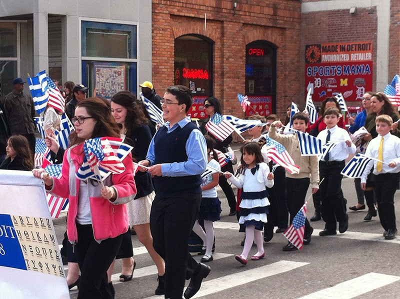 Greektown parade 5