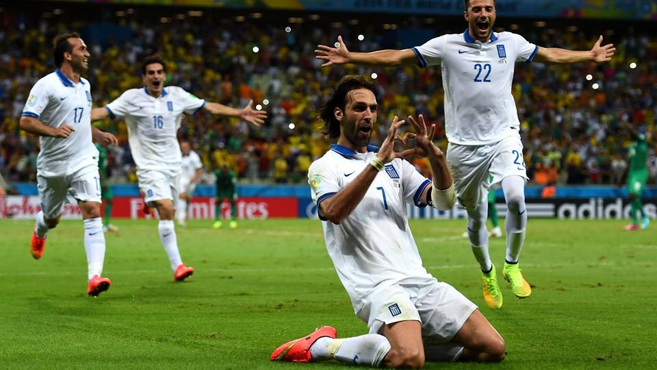 Greece's historic Group C victory over Côte d'Ivoire