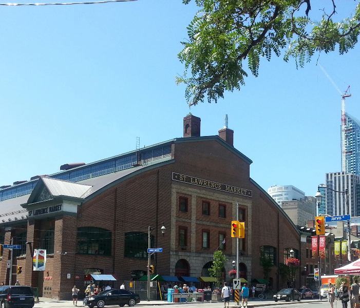 StLawrenceMarket Kalofagas Toronto Weekend