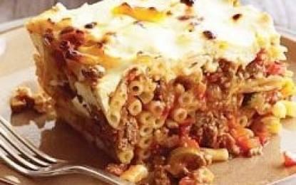 pastichio Pastitsio Recipe   Baked Pasta