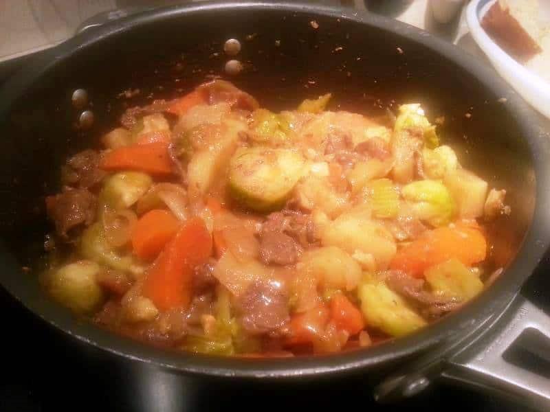 Beef nang bao rou 6
