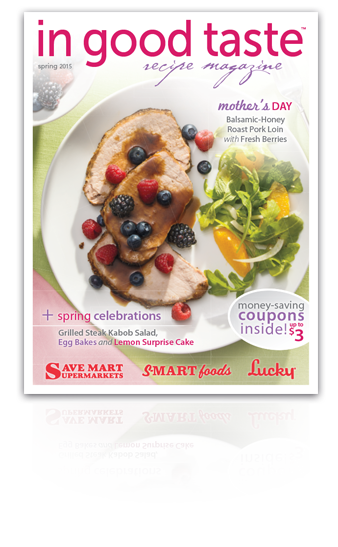Freelance food writing for In Good Taste Spring 2015