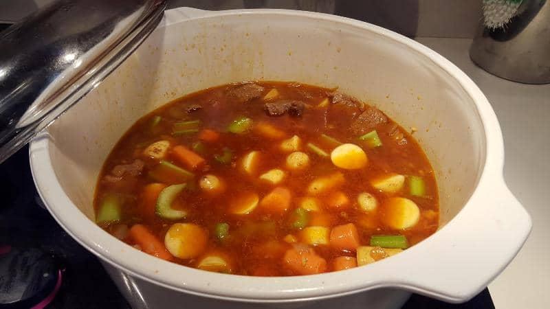 Beef Stew add v eggies