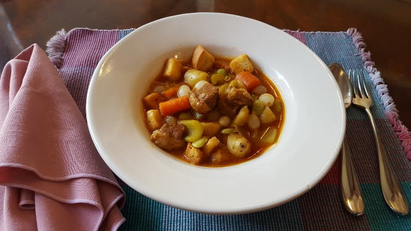 Beef Stew with croutons