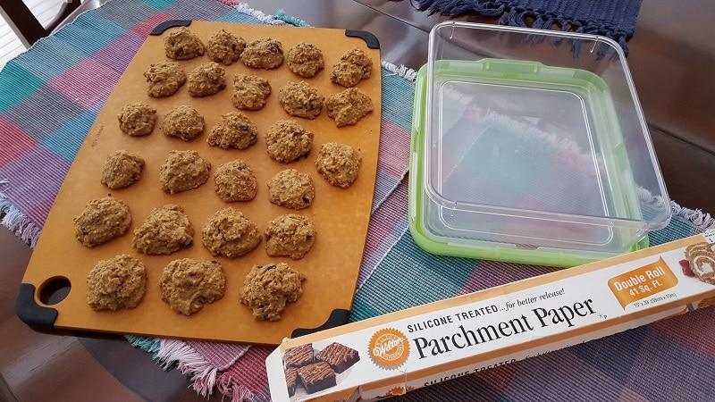 Vanishing Steel Cut Oatmeal Cookies storage