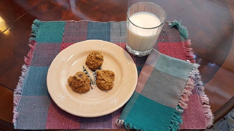 Vanishing Steel Cut Oatmeal Cookies