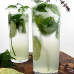 Valentine's Day Recipes / Valentines Day Drinks - Greek Mojito