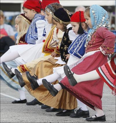 St .Nicks Opa Fest, All the Greek Festivals