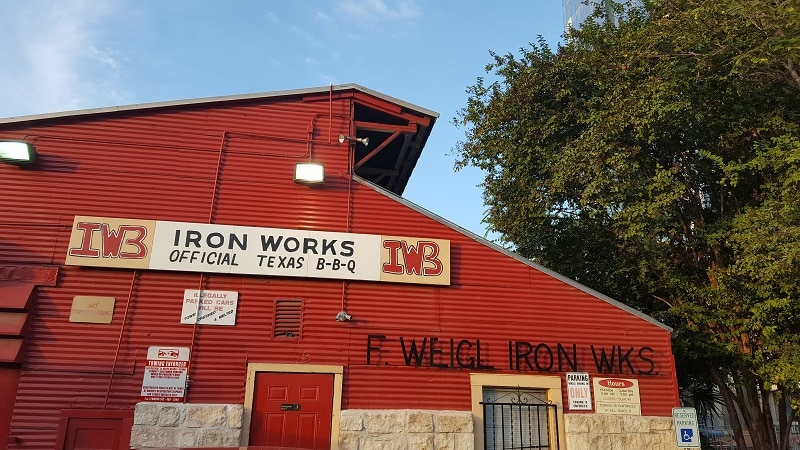Iron Works BBQ Austin TX