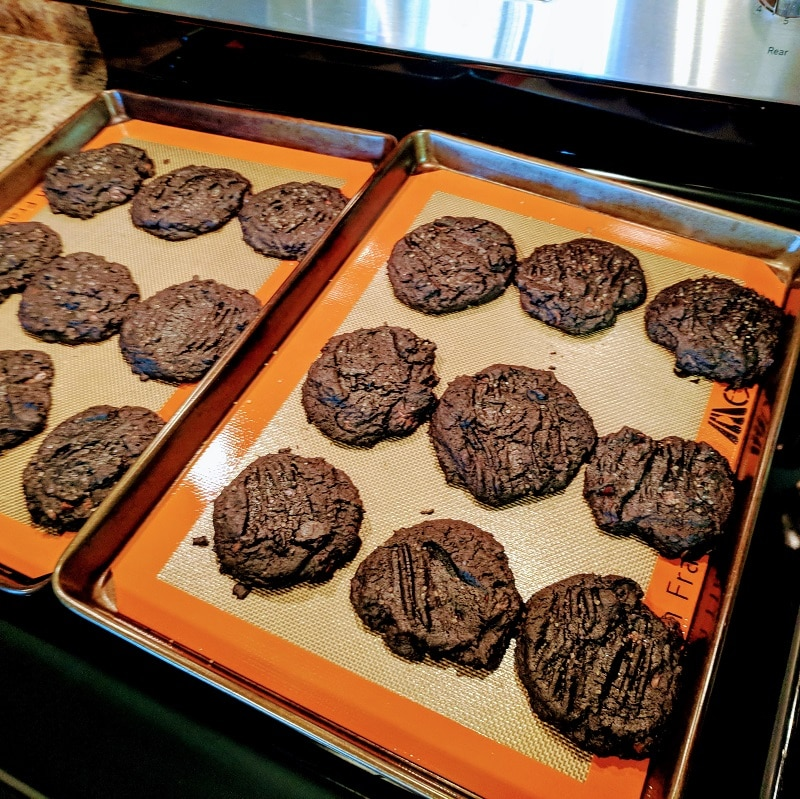 Devils Double Chocolate Cookies
